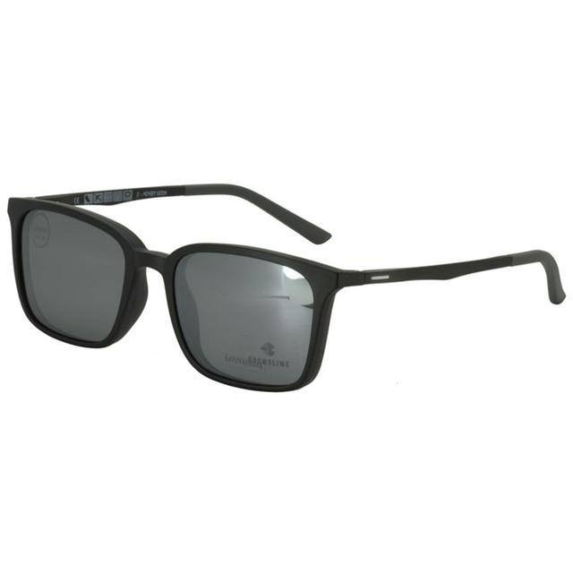 COSMOLINE Men Polarized Sunglasses Mens Frames Glasses gafas de sol Super Light Dual purpose Sunglass lunette for men EC504UD