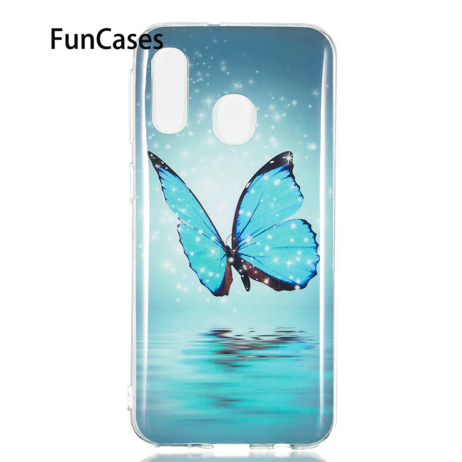 Fitted Case For Samsung A8S Soft Silicone Cover sFor Samsung Galaxy A40 A50 A6 2018 Plus A7 A750 A70 A9 J2 Core J3 J4 J6 J7 J8