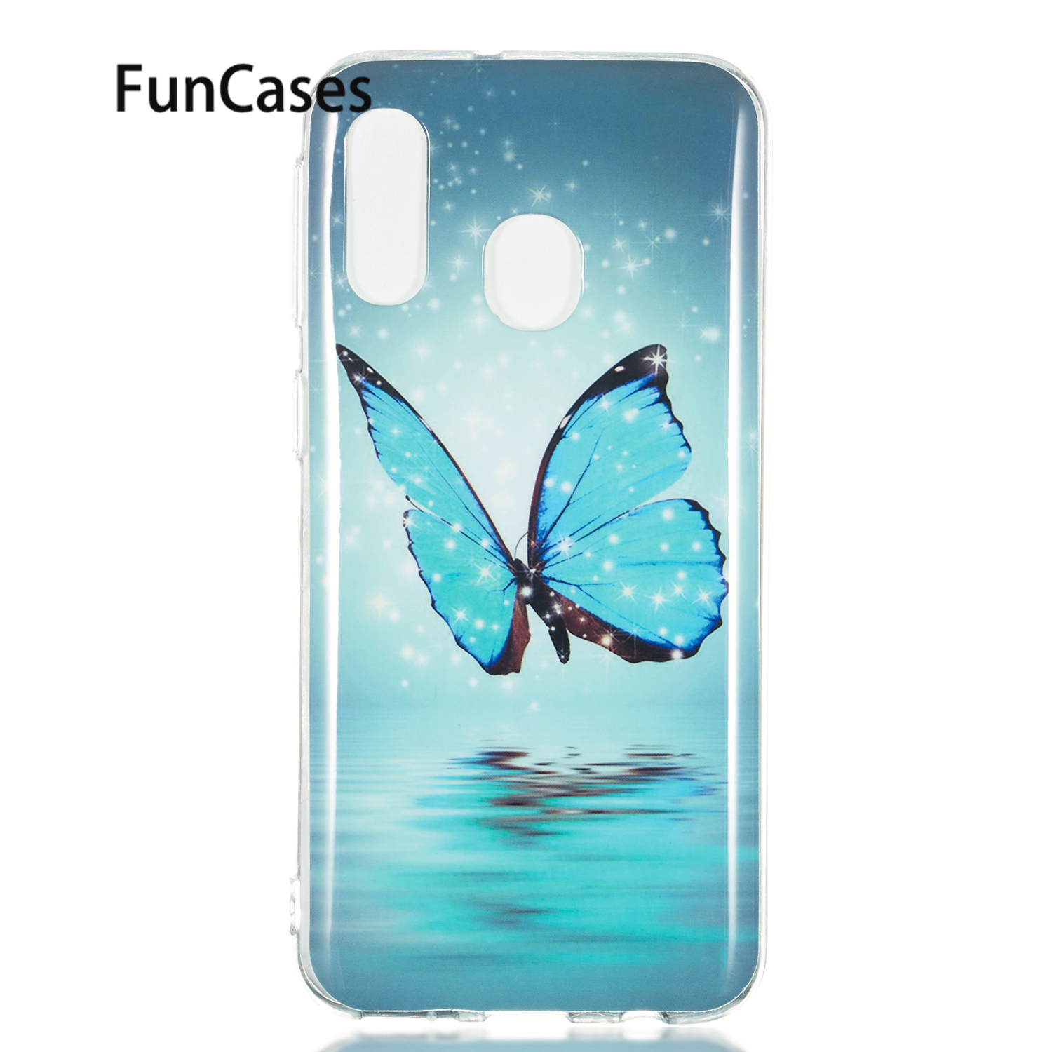 Fitted Case For Samsung A8S Soft Silicone Cover sFor Samsung Galaxy A40 A50 A6 2018 Plus A7 A750 A70 A9 J2 Core J3 J4 J6 J7 <font><b>J8</b></font> image
