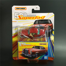 2019 Matchbox Car 1:64 Sports Car 50th Anniversary SUPER FASE Metal Material Body Race Car Collection Alloy Car Gift