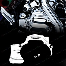 Chrome Transmission Linceul Couverture Pour Harley Street Glide FLHX FLHXS CVO Road King 09-16