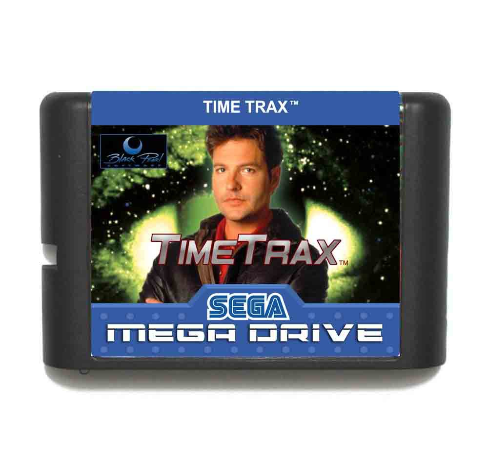 Time Trax 16 bit MD Game Card For Sega Mega Drive For Genesis