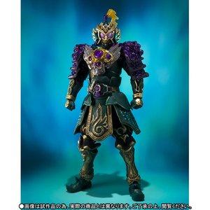 "Image 2 - Original BANDAI SIC/SUPER imaginativo CHOGOKIN exclusiva figura de acción Kamen Rider Ryugen Budou ""brazos"" jinete enmascarado Gaim"""