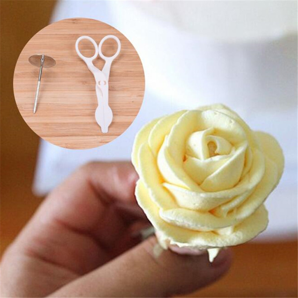 Rose Nail For Cake Decorating: 1 Set Cake Decoration Cake Flower Stand Nail 2 Cake Icing