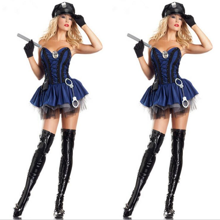 Sexy cop halloween costumes for women