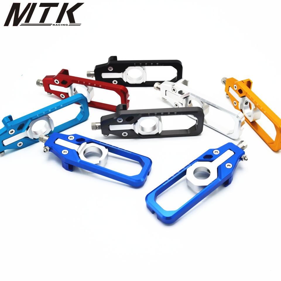 MTKRACING CNC Aluminum Motorcycle For BMW S1000RR 2009-2016 Left & Right Chain Adjusters with Spool Tensioners Catena планшет huawei mediapad t3 7 16gb bg2 u01 space grey mediatek mt8321 1 3 ghz 1024mb 16gb 3g wi fi bluetooth 7 1024x600 android