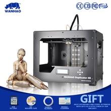 Новый develpoed 3D принтер, wanhao D4S, dual-экструдера Desktop RepRap комплект, с MK10 сопла, Работает с abs, PLA и другие материалы