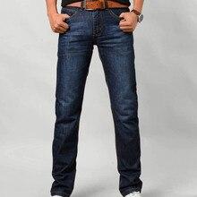 men slim Jeans high quality brands trousers fashion straight classic jeans male plus size 6xl denim boyfriend casual long pants