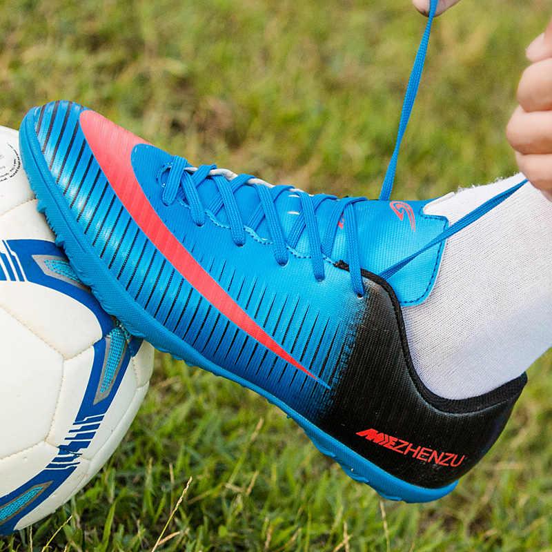 c453f80bedbf5 ... ZHENZU futbol superfly football boots kids boys cheap indoor soccer  shoes sneakers voetbal scarpe da calcio