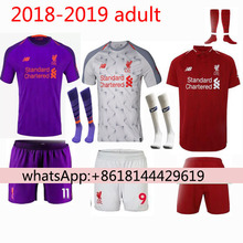 eb056ae8d65 Free patches 2018 2019 Top football jerseys Thai AAA Qualit Liverpooles  adult Soccer jersey 18 19 Home Away 3RD Liverpooling Shi