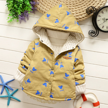 2016 Baby cartoon trench coat in spring and autumn outfit 2016 boys girls skinny coat outdated boy children cotton windbreaker HW004