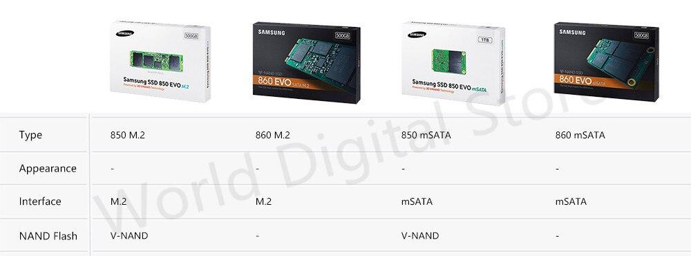 M2 mSATA-Samsung-SSD hard disk internal external hard drive harddisk 2.5 3.5 m2 msata sata NVMe PCIe USB 120GB 240GB 480GB 500GB 1TB 2TB 4TB hdd for computer Desktop tablet kingdian