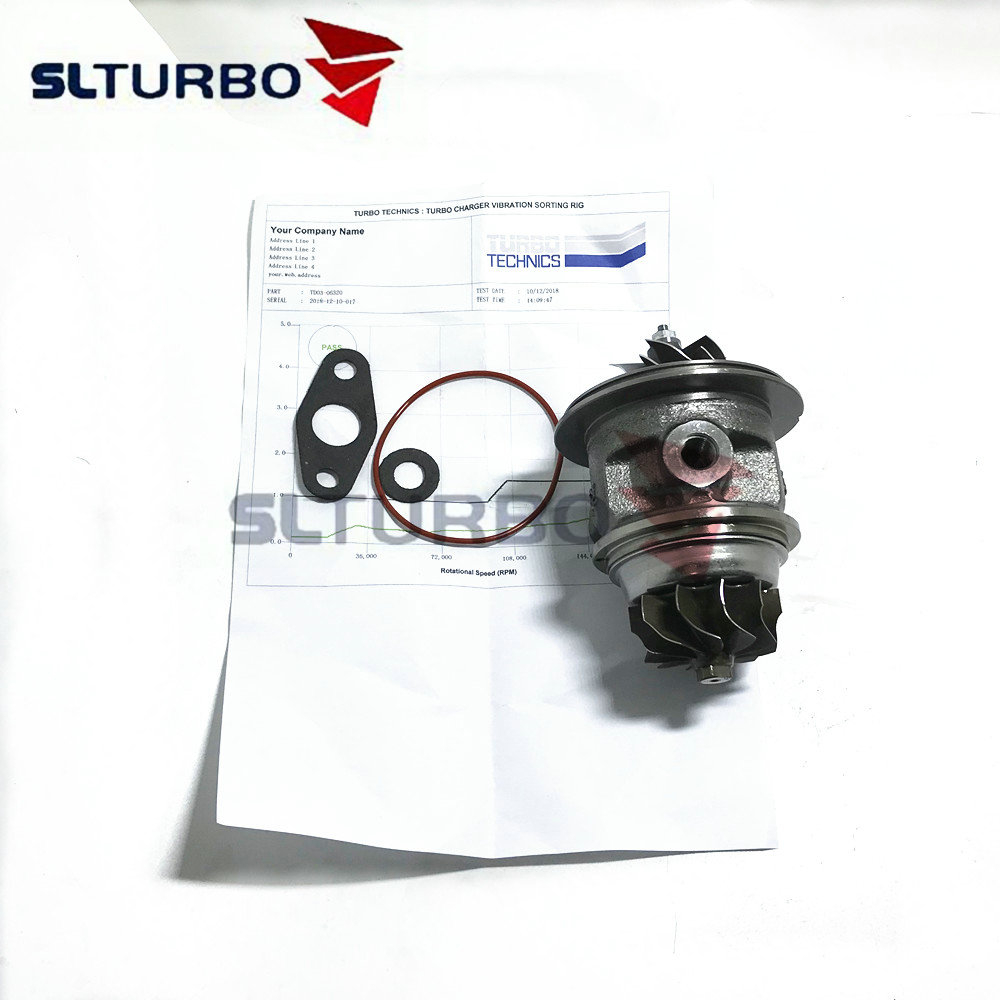 49131-06320 TD03 NEW turbocharger replacement core cartridge for Mitsubishi Version 2.2 L - 49131-06300 turbine chra rebuild kit49131-06320 TD03 NEW turbocharger replacement core cartridge for Mitsubishi Version 2.2 L - 49131-06300 turbine chra rebuild kit