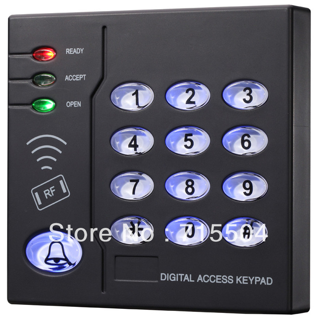 keypad access controller promixity card reader S208MF