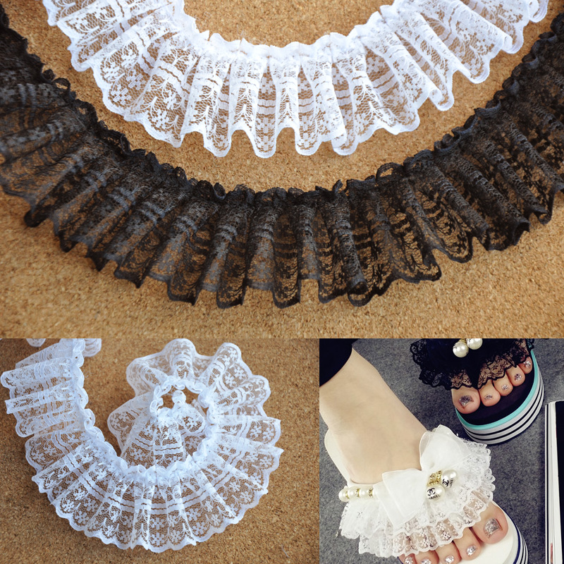 how to make pleated ribbon trim