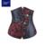Steampunk corsé deshuesado acero atractivo de underbust corsés y bustiers mujeres corsé de la cintura de la cintura cincher corselet