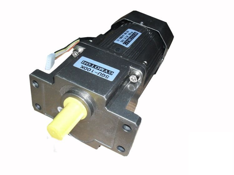 AC 220V 90W Single phase regulated speed motor with gearbox. AC gear motor,AC 220V 90W Single phase regulated speed motor with gearbox. AC gear motor,