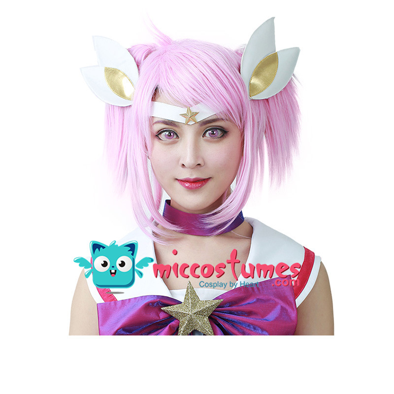 The Lady Of Luminosity cos Lux Cosplay Wig