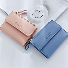 Women Zippler Wallet PU Leather