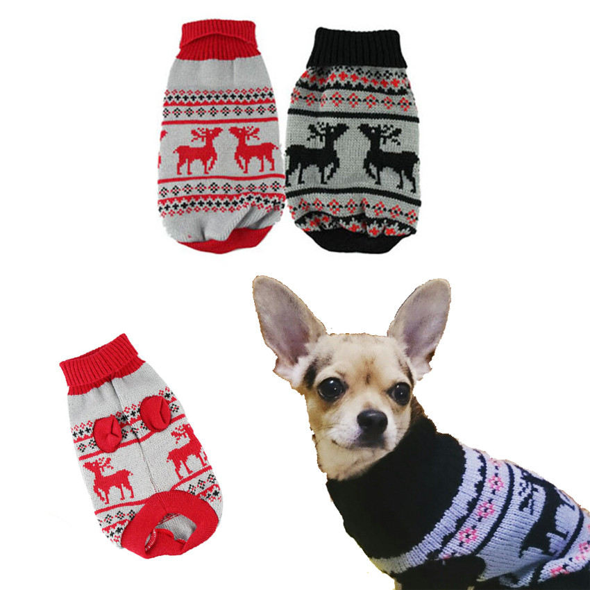 MUQGEW Pet Dog Clothes Winter Chihuahua Puppy Cat For Small Dogs ...
