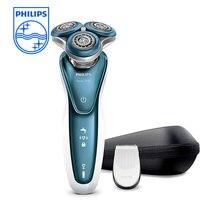 Philips бритвы серии 7000 влажной и сухой электробритва с GentlePrecisionPRO лезвия SmartClick точность триммер S7370/12