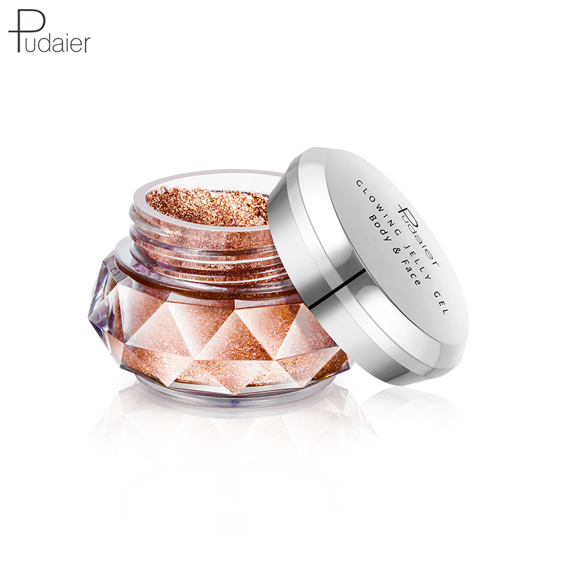 Eye Shadow 2019 Pudaier New Arrival Jelly Highlights Powder Jelly Gel Face High Light Liquid Body Highlight Cream Mermaid Eye Shadow