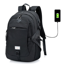 Backpack Charge Port 15 inch Laptop Backpack Anti-theft Waterproof Bags for Men Women Travel School Large Capacity Backpacks