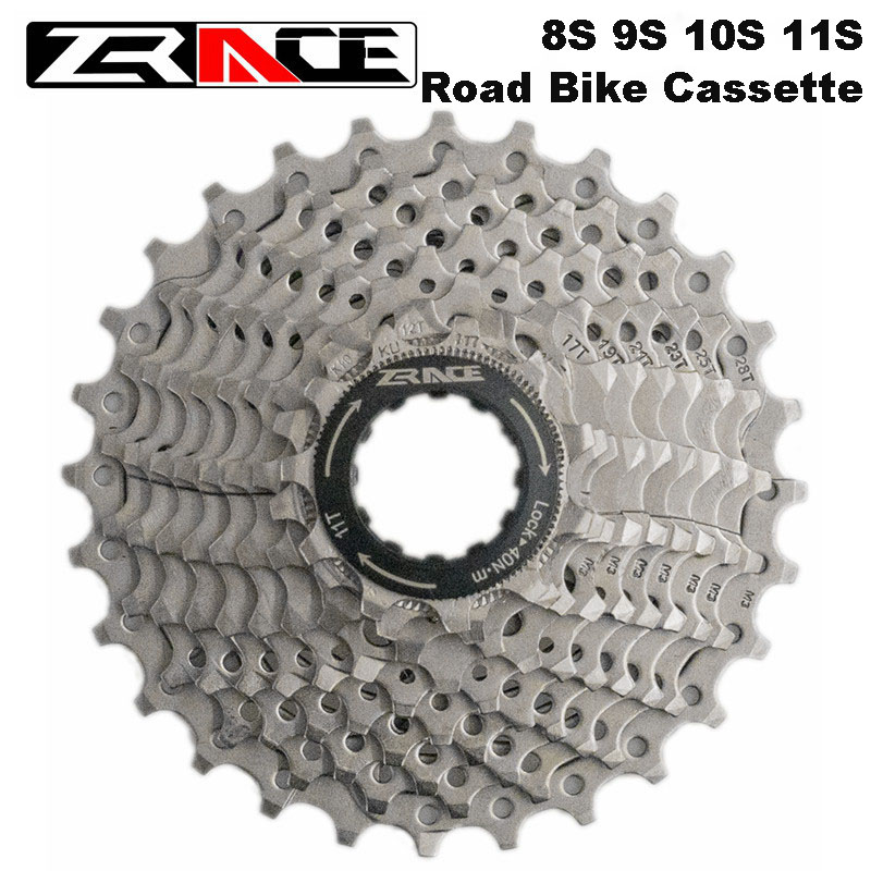 ZRACE Bicycle <font><b>Cassette</b></font> 9S 10S 11 Speed Road / MTB freewheel 11-25T / 32T / 34T / 36T, Compatible for Ultegra 105 <font><b>R8000</b></font> R70000 image