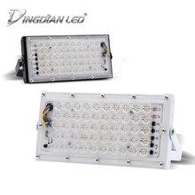DINGDIAN LED 50W FloodLights Perfect Power Outdoor Street Lamp AC220V Waterproof Landscape Lighting IP66 Spotlight