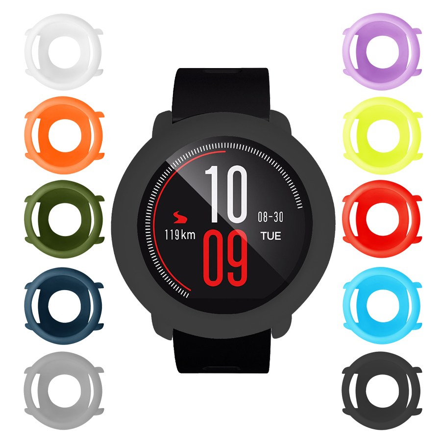 For Amazfit Pace Case Soft TPU Full Cover Protective Shell Bumper Frame Protector For Xiaomi Huami Amazfit Pace Watch Case Cover
