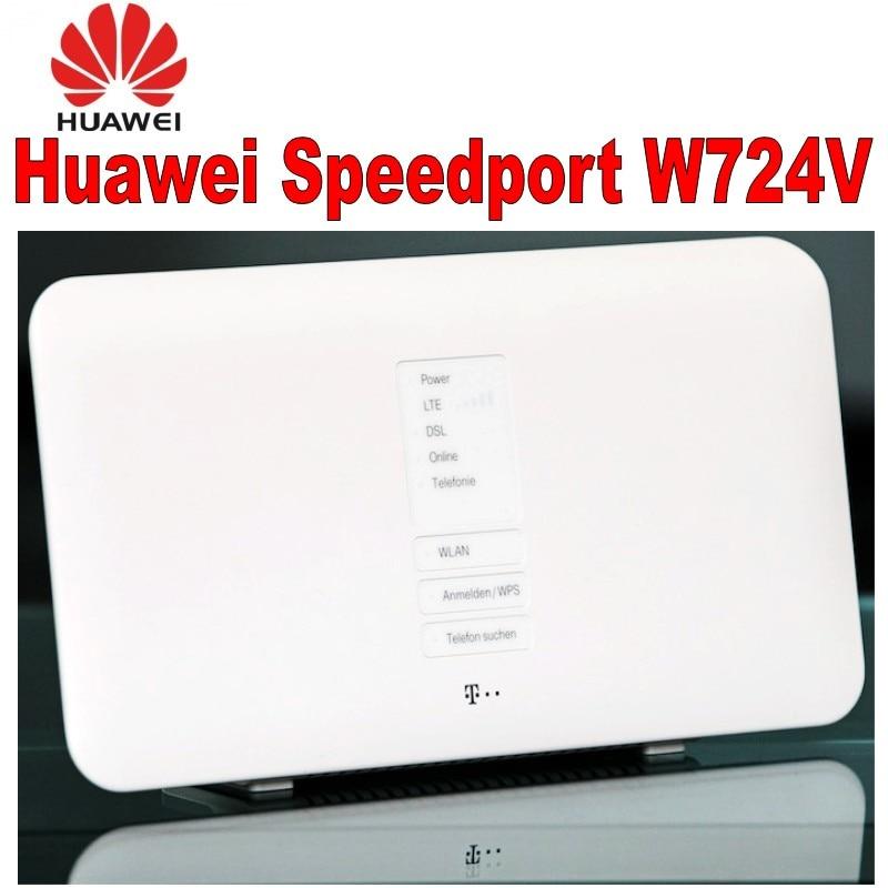 100% QualitäT Huawei Speedport W724v Adsl Adsl2 +/vdsl2/dsl Modem/router Sip Voip Dlna + Nas 802.11b/ G/n/ac Hause Router Angemessener Preis