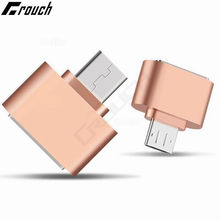 Mini Micro USB OTG Hug Converter Camera Tablet MP3 OTG Adapter for Samsung Galaxy S3 S4 Sony LG Microusb OTG cable(China)