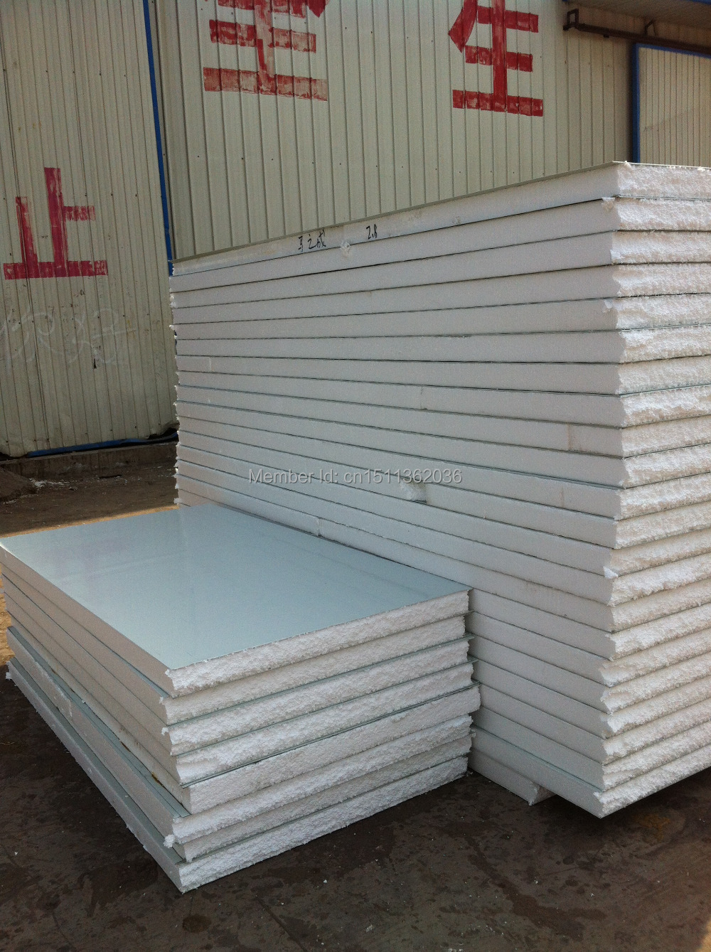 Polyurethane Foam Panels : Polyurethane foam sandwich panel on aliexpress