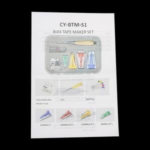 Image 5 - Machine Tools Binding Sew Multifunction Sewing Bias Tape Maker Set DIY Patchwork Quilting Tool