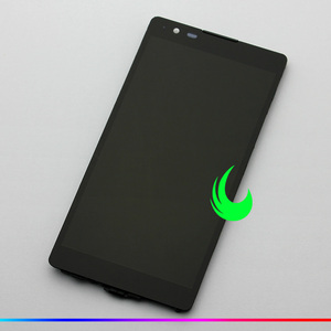 """Image 3 - 5.3 """"orijinal LG X güç X3 K220 K220DS K220DSK K210 K450 LS755 LCD dokunmatik ekranlı sayısallaştırıcı grup çerçeve ile"""