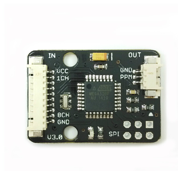 PPM Encoder Board V3.0 for APM Pixhawk PX4 PPZ MWC Flight Controller + Tracking Number SKU:11411 xtend xtp9b wireless data transmission module kit rf box 900mah 1w for apm pixhawk pixhack flight controller