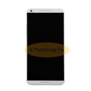 Image 3 - 100% testowane do HTC Desire 816 LCD ekran dotykowy z ramką dla HTC Desire 816 wyświetlacz montaż Digitizer 816D 816 T D816W D816