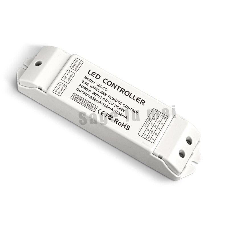 Ltech R4-CC Zone constante récepteur de courant DMX512 décodeur led récepteur DMX pilote de signal 2.4G sans fil led gradateur