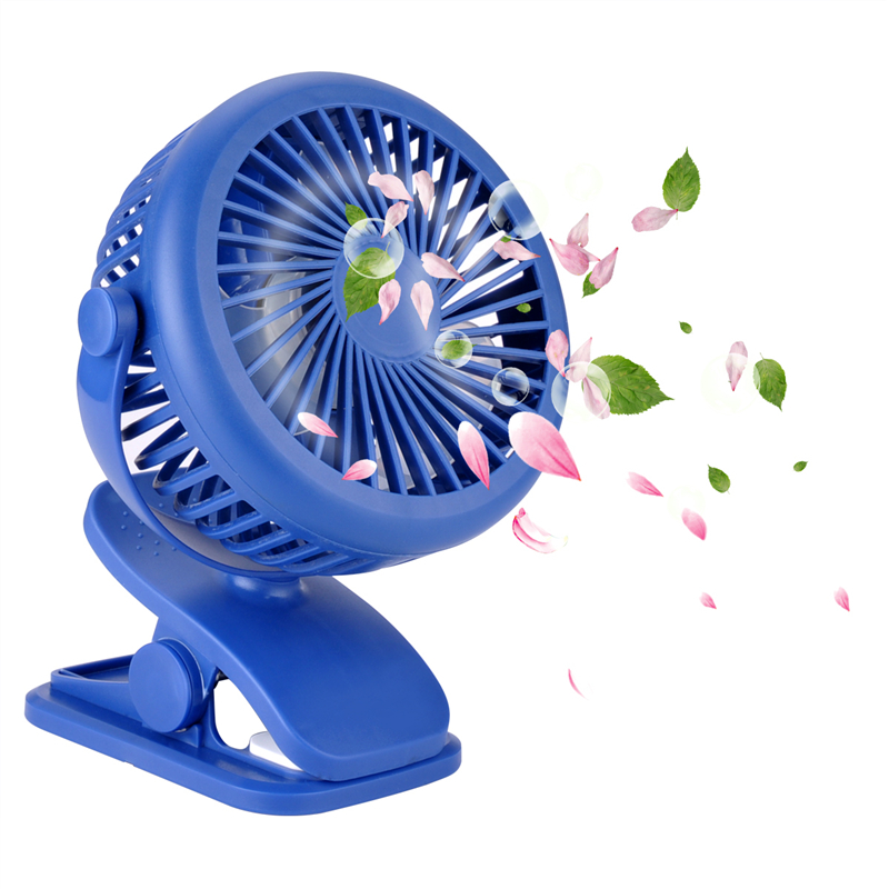 Multifunction Clip Fan Mini Rechargeable Baby Stroller