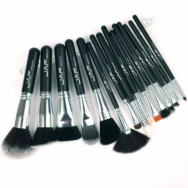 JAF 15pcs Makeup Brushes Tools, Conveniently Portable Make Up Brush Set, Brand Cosmetic Makeup Kit, Free Dropshipping J1531YC-B 2