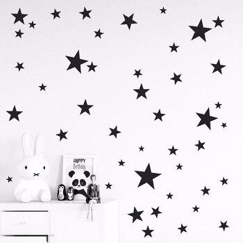 מדבקות קיר נשלף כוכבים
