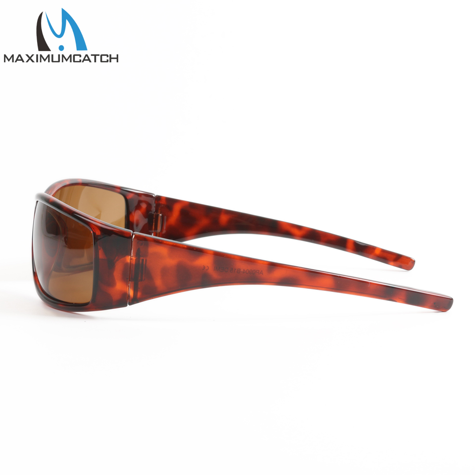Maximumcatch Tortoise Frame Fly Fishing Polarized Sunglasses Brown ...