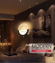 4Pcs/Lot Telesthesia horses 6Watts Household Lighting moistureproof bedside bedroom living room aisle corridor Wall Light