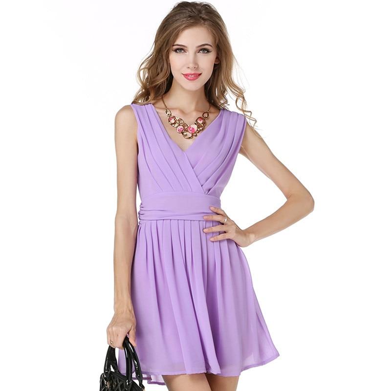 Aliexpress.com : Buy Women Summer Dress Autumn Light Purple ...