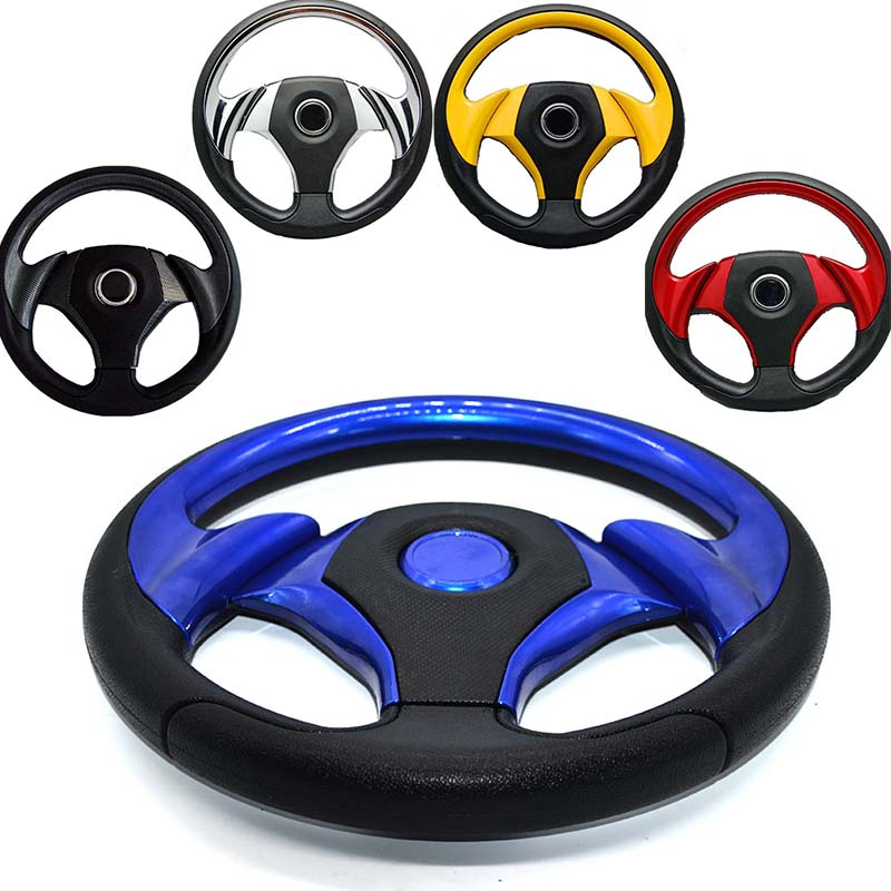 Universal steering wheel 320mm(13inches) PU leather MOMO Racing Car Steering Wheel(red black white golden blue) 320mm steering wheel 630mm rack
