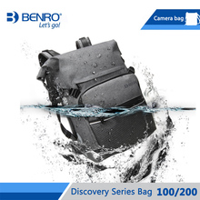 Benro Discovery 100 200 Camera Bag Camera Backpack Bag Waterproof Camera Case For Traveling Carry Camera Free Shipping цена и фото