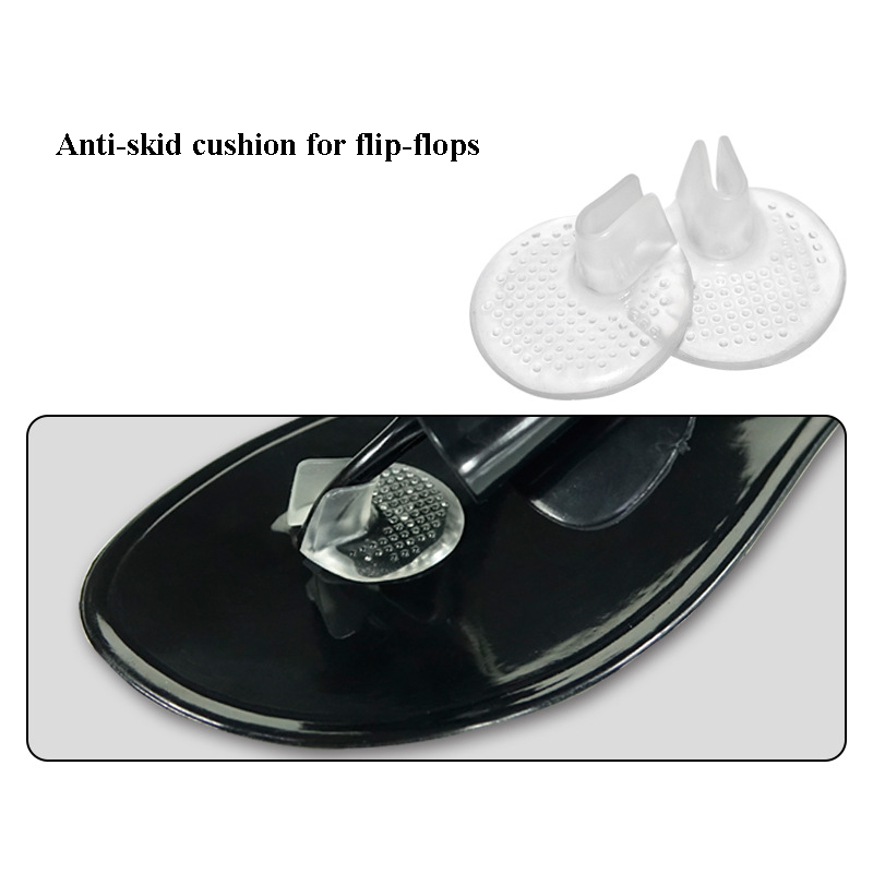 1 Pair Transparent Gel Shoes Inserts shoe pad Cushion Flip flop Sandals Toe Separator Massage Shoe Insole Cushion in Foot Care Tool from Beauty Health
