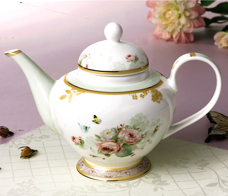 850 Ml Creative Gift Ceramic Teapots High Quality Bone