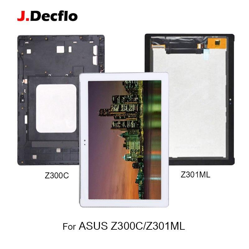 Écran LCD Pour ASUS ZenPad 10 Z300 Z300C Z300M P021 Z301 Z301M Z301ML Z301MF Z301MFL P028 P00L Écran Tactile Digitizer l'assemblée