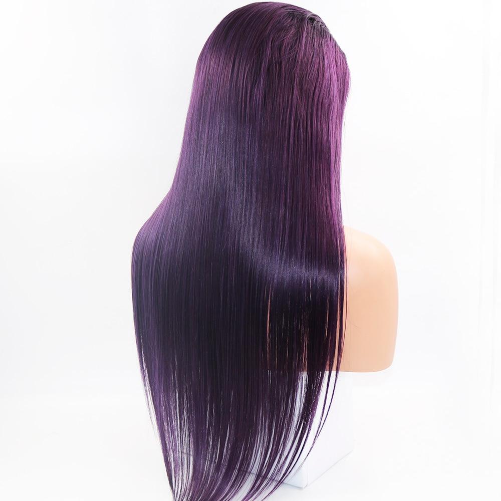 purple human hair wigs02